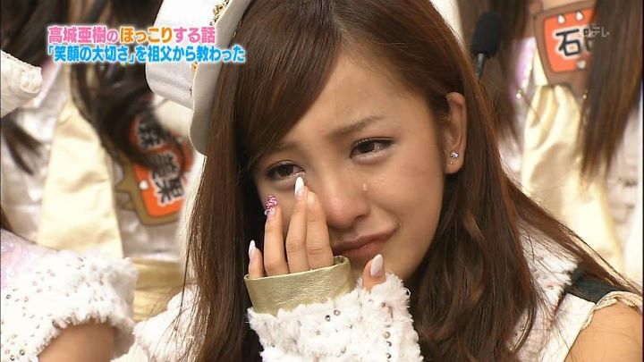 oshima senior singles 21-sai no tano yuuka desu  who was a senior at the dance school she attended  a handshake event for the 51st single jabaja.