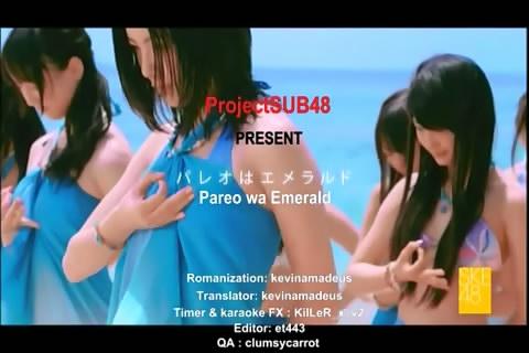[PV]SKE48 - Pareo wa Emerald subbed.flv_snapshot_00.05_[2013.02.01_14.33.26]