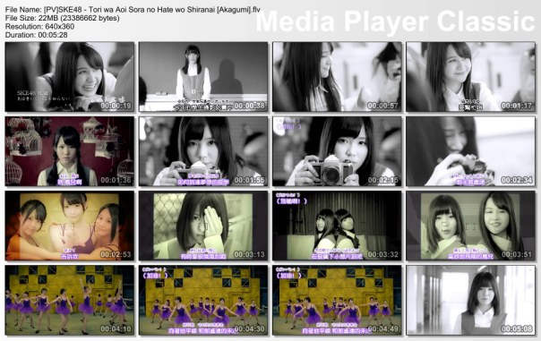 [PV]SKE48 - Tori wa Aoi Sora no Hate wo Shiranai [Akagumi].flv_thumbs_[2013.02.01_14.30.36]