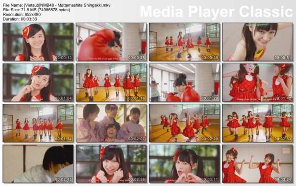 [Vietsub]NMB48 - Mattemashita ShingakkI